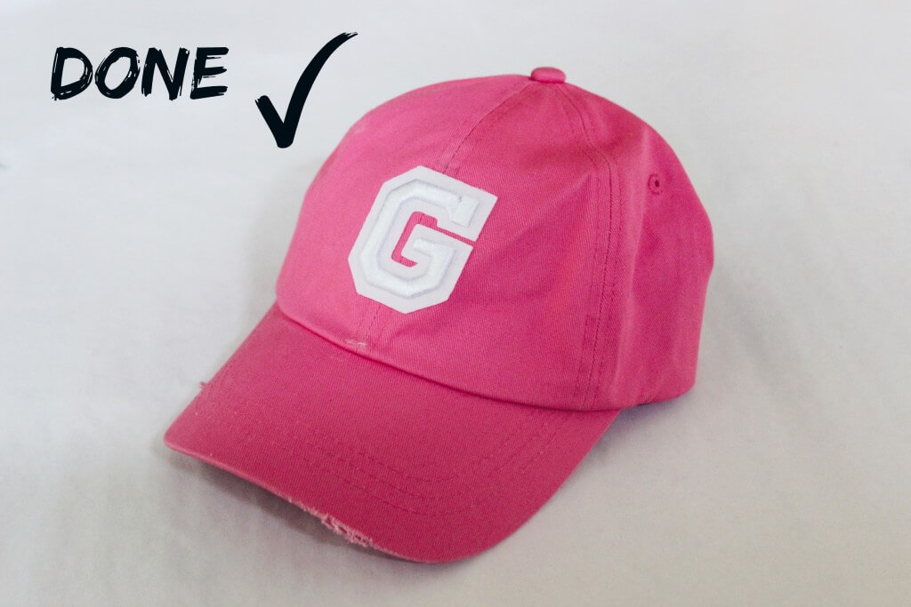 diy baseball cap it 39 s a g thang